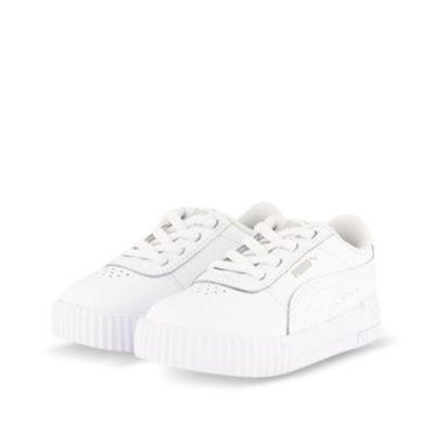 Fashion 4 Shoes - Puma Carina L Ac Inf  Size 4 Toddler